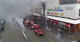 Russie : Au moins 64 morts dans l'incendie d'un centre commercial
