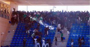 Vandalisme : 2 matches à huis clos et une amende pour le Raja
