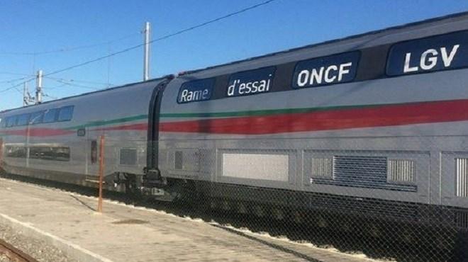 ONCF : La LGV bien sur les rails