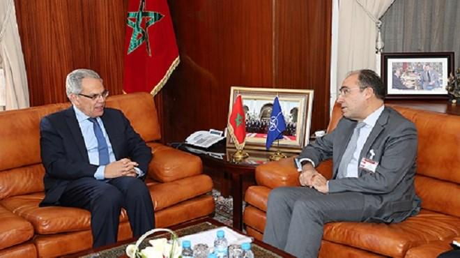 Abdeltif Loudyi reçoit le Secrétaire général adjoint de l'OTAN