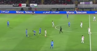 Victoire du Maroc contre l'Ouzbékistan