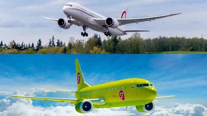 La RAM scelle un partenariat avec la compagnie russe S7 Airlines