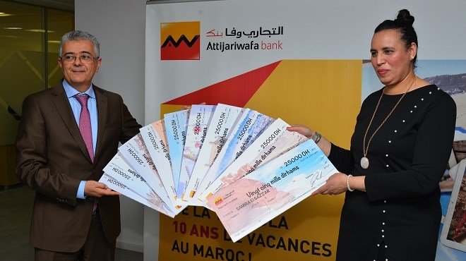 Attijariwafa bank : «10 ans de vacances au Maroc»