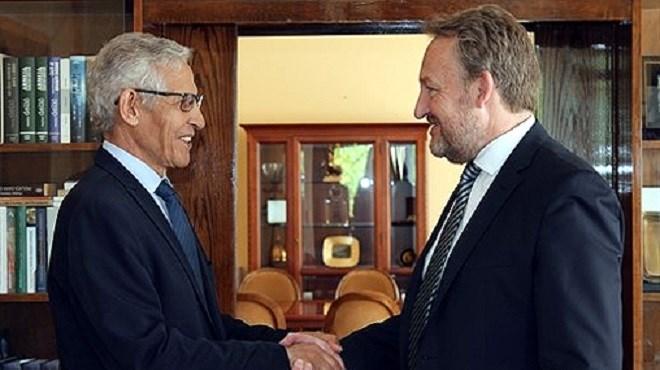 Le Président de la Présidence collégiale de la Bosnie-Herzégovine reçoit Lahcen Daoudi