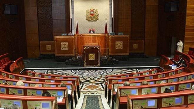 chambre des conseillers ouverture vendredi de la session