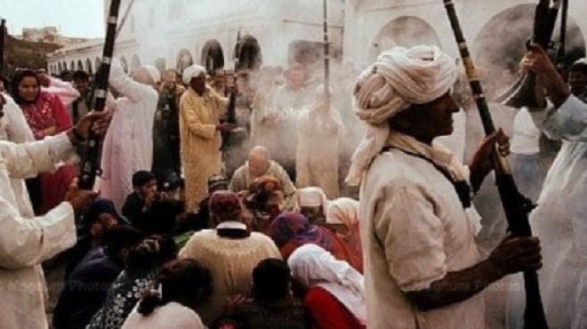 Don Royal à Essaouira au profit de la Zaouia des Regraga