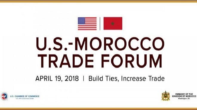 Forum commercial Maroc-Etats-Unis : Signature de 3 mémorandums d'entente