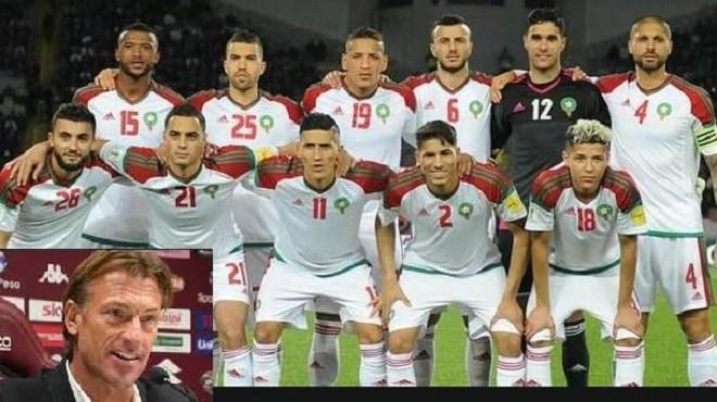 Son avenir, la mise au point de Renard — Maroc