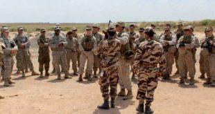 African Lion 2018 : Phase finale de la manœuvre aéronavale maroco-américaine