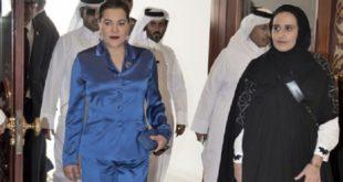Arrivée de la Princesse Lalla Hasnaa à Doha