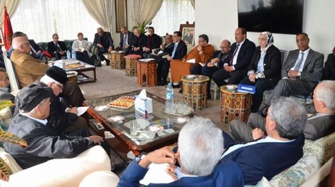 El Othmani reçoit aussi les partis non représentés au Parlement