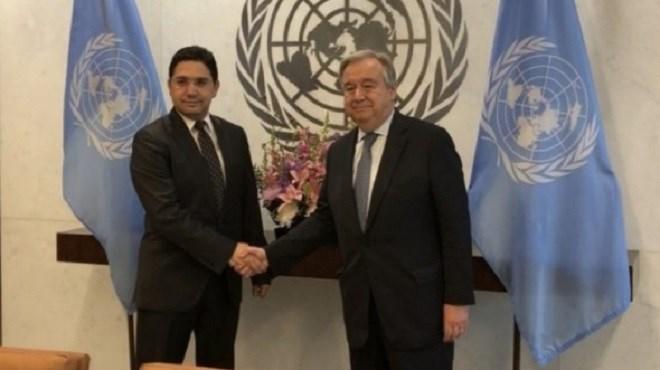Sahara : Nasser Bourita remet un message écrit de SM le Roi au SG de l'ONU