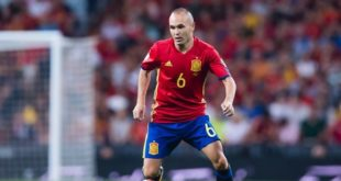 Iniesta mettra un terme à sa carrière internationale !