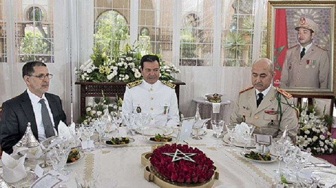 Anniversaire de la création des FAR : Le Prince Moulay Rachid préside un déjeuner offert par le Roi Mohammed VI
