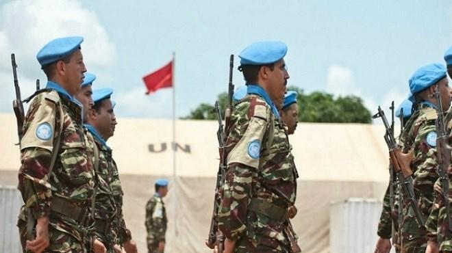 L'ONU rend hommage au casques bleus marocains