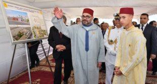 Les travaux de construction d'un Centre social pour l'accueil des personnes âgées, lancées par le Roi Mohammed VI