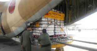 Jordanie : arrivée du premier lot d'aide humanitaire marocaine au profit du peuple palestinien