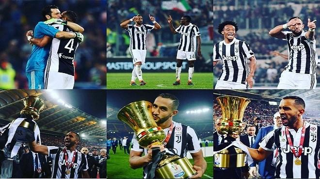 La Juventus remporte sa 4e Coupe d'Italie !