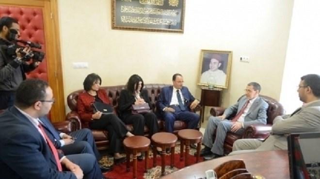 Maroc-Palestine : Une délégation de la jeunesse palestinienne en visite à Rabat