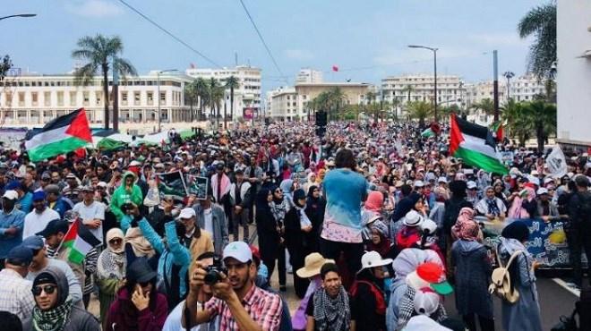 Cause palestinienne : Les Marocains ont marché pour Al Qods