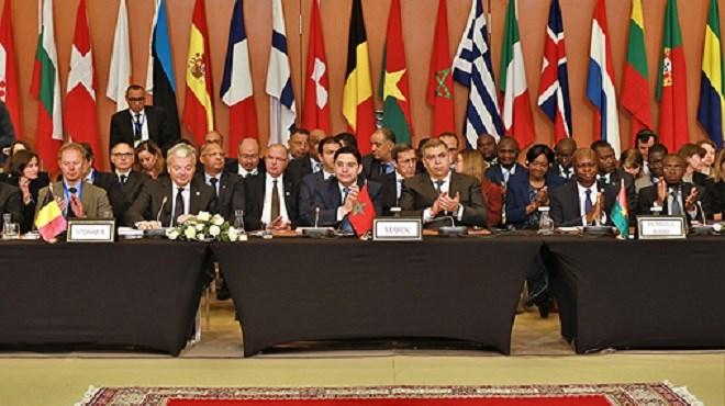 Nasser Bourita s'entretient avec des ministres africains et européens au sujet de la migration