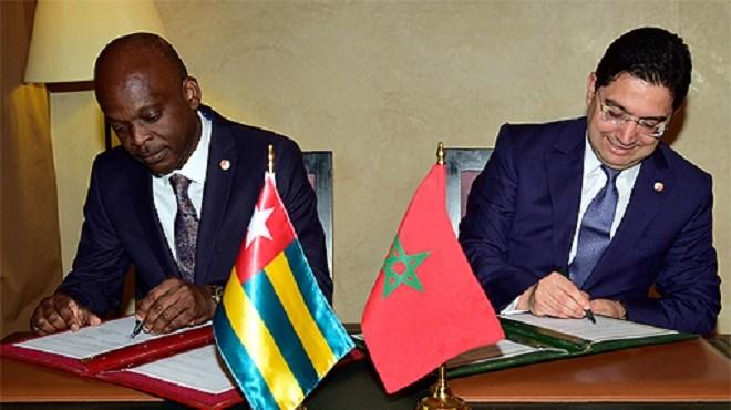 Maroc : Signature d'accords bilatéraux avec le Togo et la Suisse