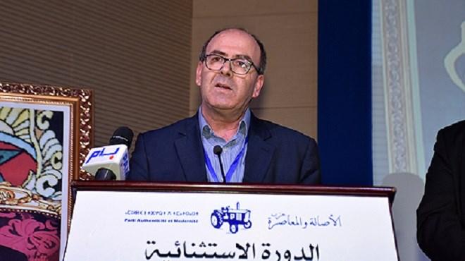 Hakim Benchamach : élu nouveau secrétaire général du PAM