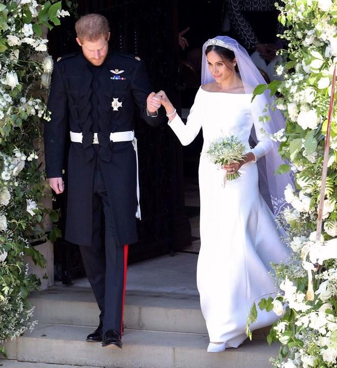 Le prince Harry & Meghan Markle se sont dit 'Oui' (Photos)
