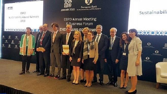 Le ministère de l'Agriculture et de la pêche maritime remporte le prix d'or de l'EBRD