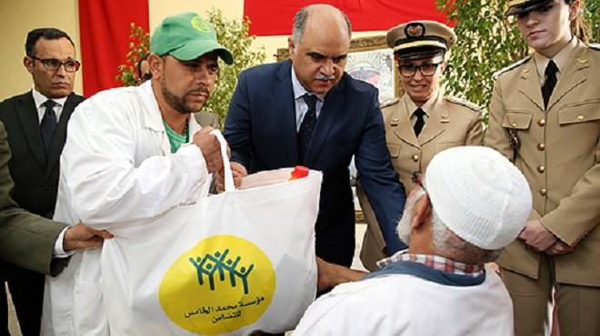 """Fès : 2.650 familles bénéficient de l'opération """"Ramadan1439"""""""