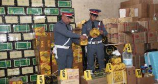 Ramadan : Saisie et destruction de 50 tonnes de produits impropres à la consommation