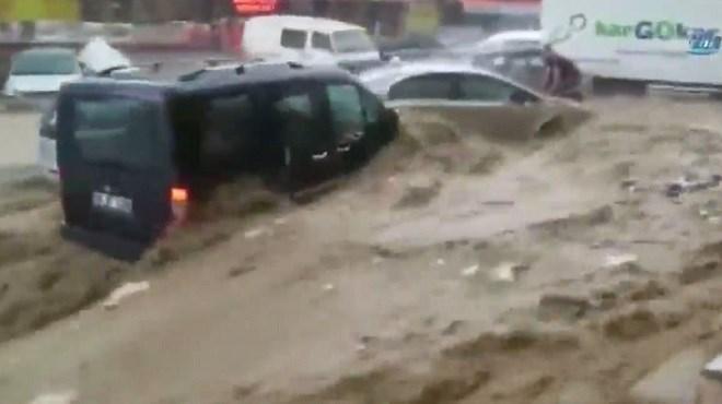 Turquie : six blessés dans une inondation à Ankara