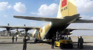 Egypte : Arrivée du premier lot d'aide humanitaire marocaine au profit du peuple palestinien