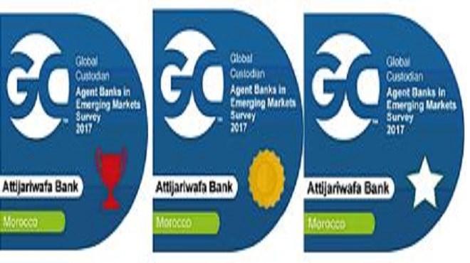 Attijariwafa bank : La banque Triplement  primée