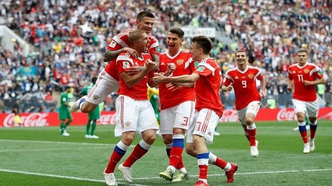 Mondial 2018 : La Russie étrille l'Arabie Saoudite 5-0