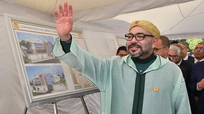 Le Roi Mohammed VI lance les travaux de construction d'un Centre d'addictologie