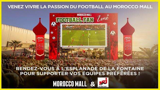 Mondial 2018 : Au Morocco Mall, les marocains fêtent le Football !