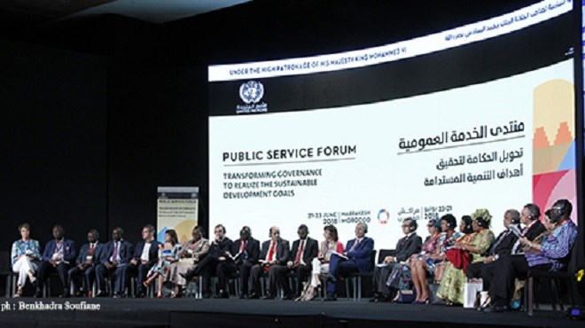 Marrakech : Forum des Nations Unies sur le service public 2018