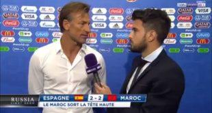 "Coupe du monde 2018 : Hervé Renard ""ne conteste pas la VAR"""