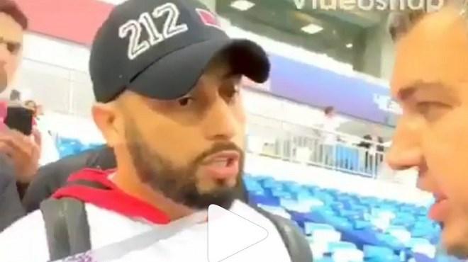 Un supporter du Maroc crée le buzz (vidéo)
