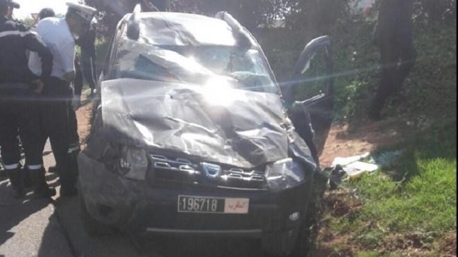 Mort du Pacha de Sidi Bernoussi