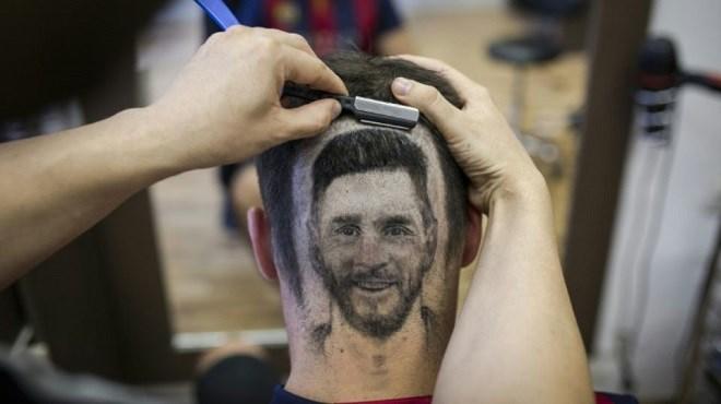Mondial 2018 : Messi et Ronaldo dessinés sur les crânes !