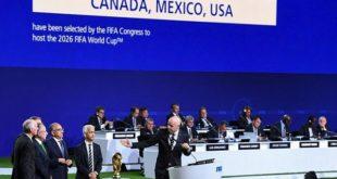 Football : l'organisation de la coupe du monde 2026 est attribuée au trio USA-Canada-Mexique