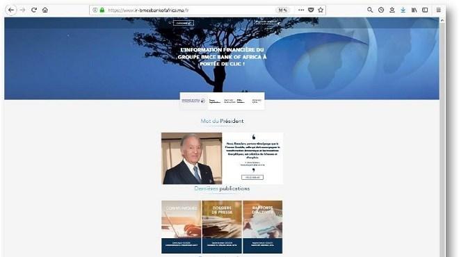 BMCE BoA : Un site web de la «Com.Fi» voit le jour
