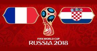 Coupe du monde 2018 : Sixième confrontation de l'histoire entre la France et la Croatie