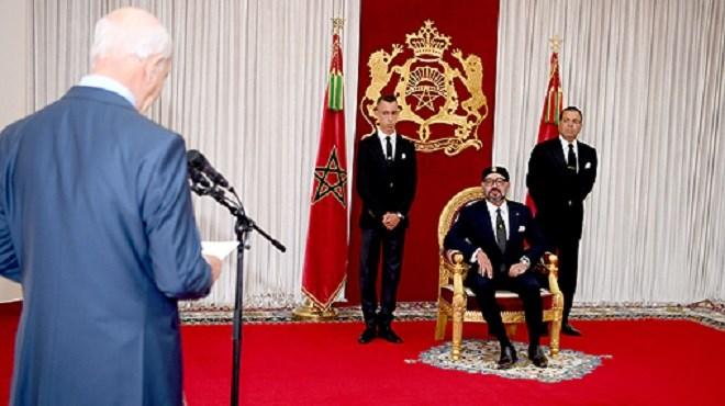 Cour des Comptes : SM le Roi reçoit Driss Jettou