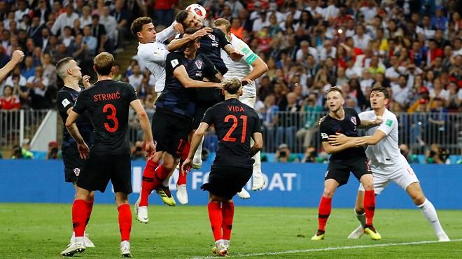 La Croatie bat l'Angleterre et rejoint la France en finale de la coupe du monde