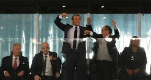 Moscou : Emmanuel Macron à la finale de la coupe du monde 2018