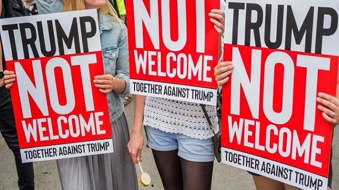 Londres : Manifestations contre la visite de Donald Trump