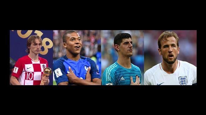 Mondial 2018 : Les meilleurs récompensés